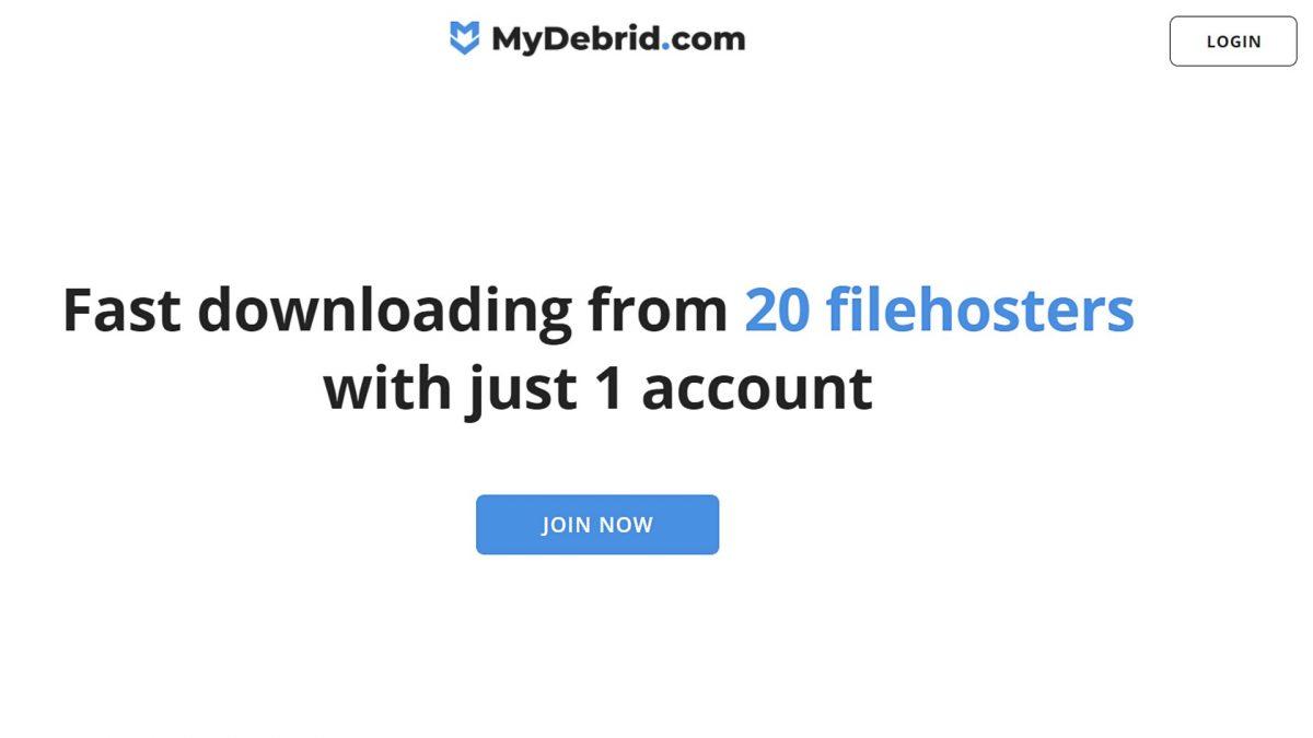 MyDebrid downloader.