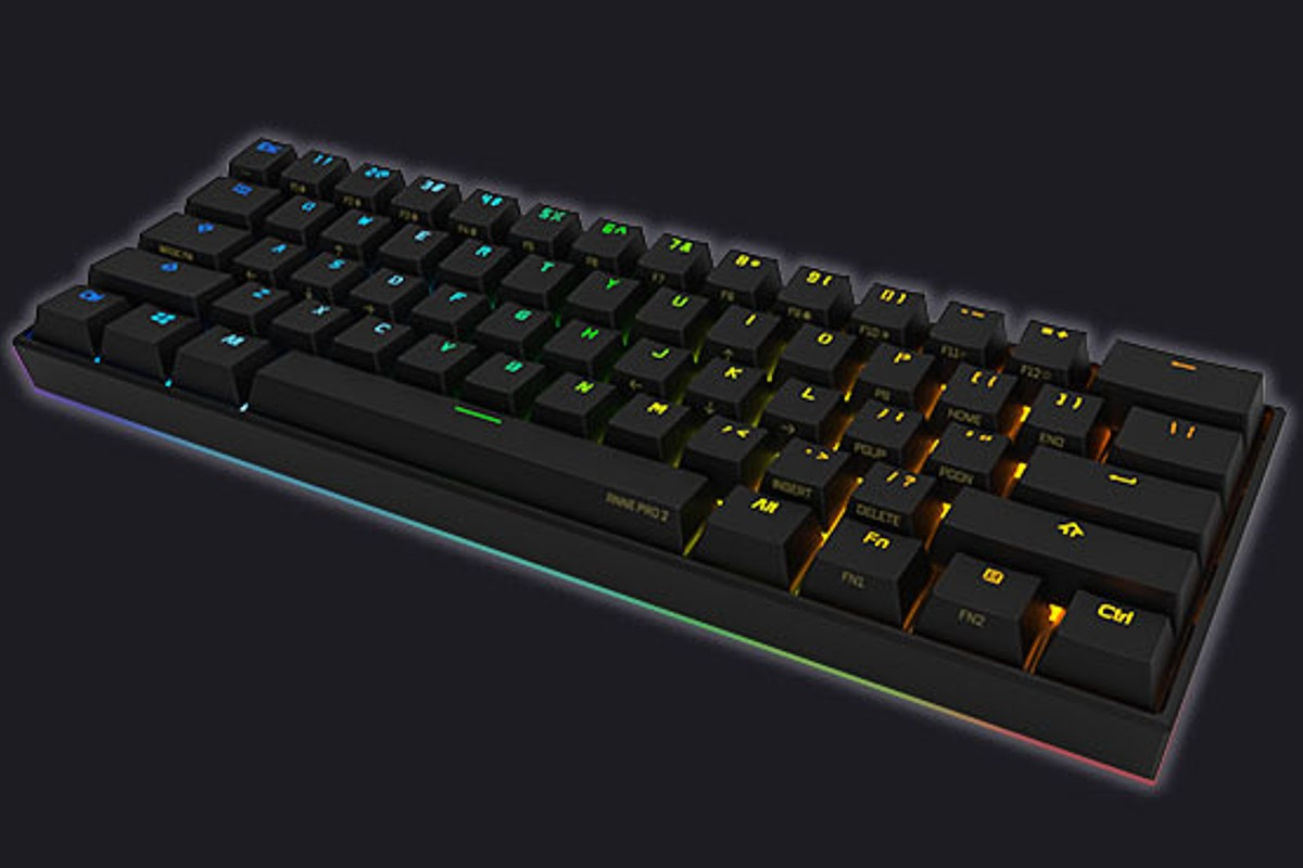 Anne Pro 2 keyboard for typing.