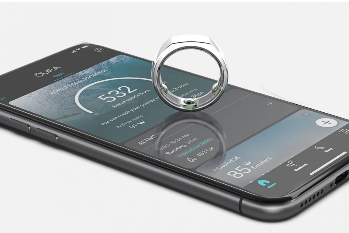 The Oura Ring and app.