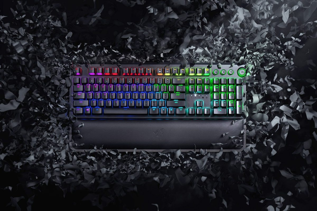 Razer BlackWidow Elite mechanical keyboard.