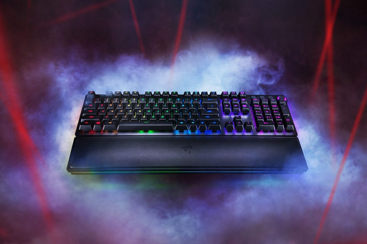 Razer's mechanical gaming keyboard