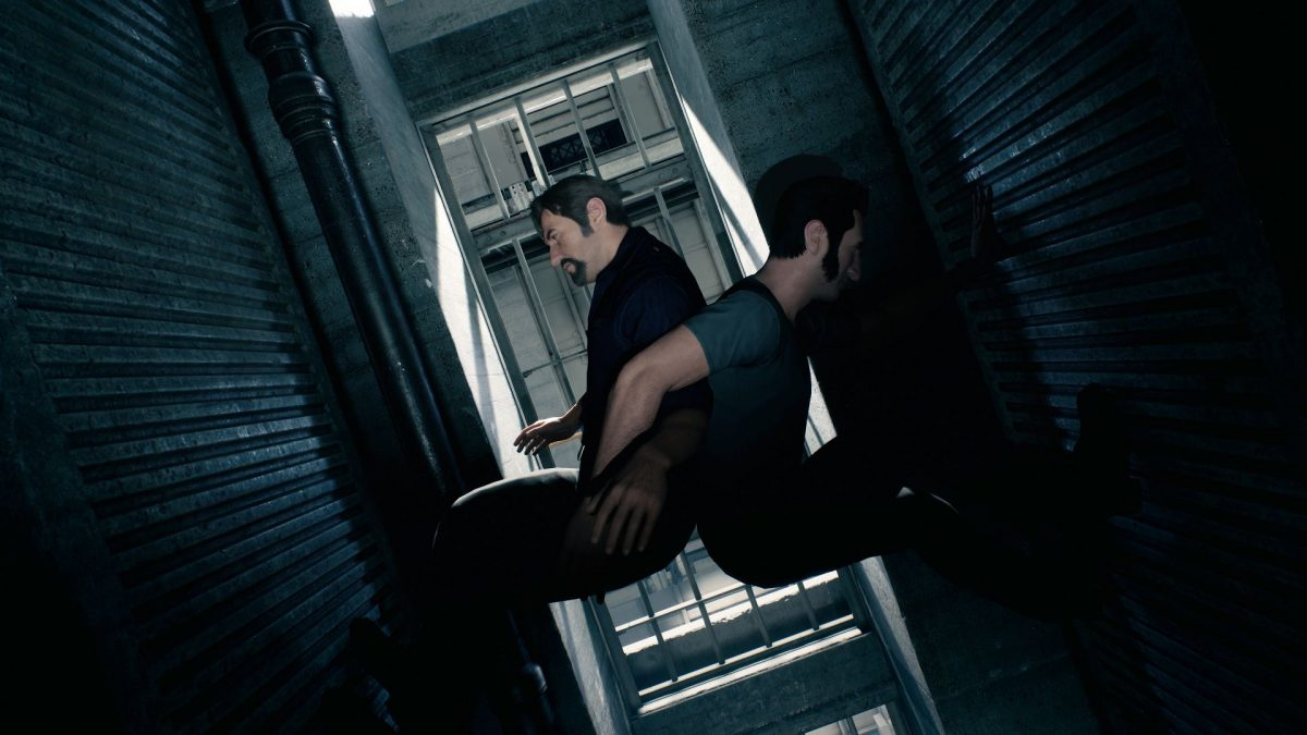 A Way Out video game.