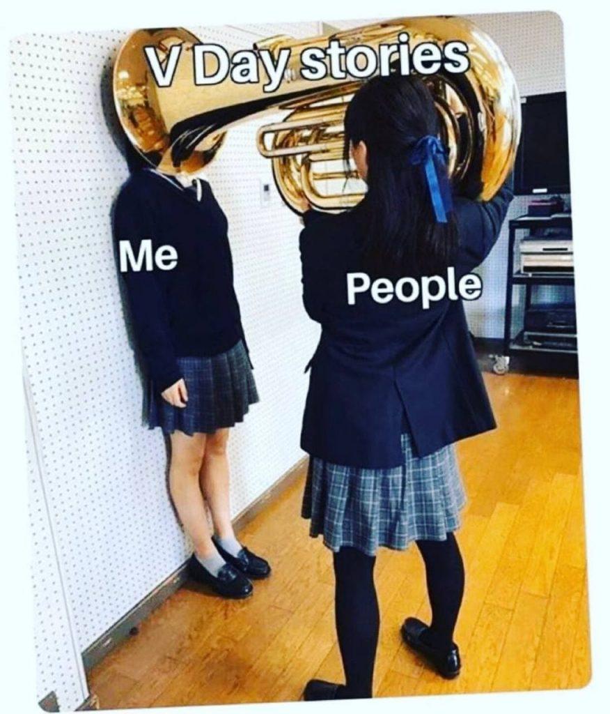 anti valentine's day memes