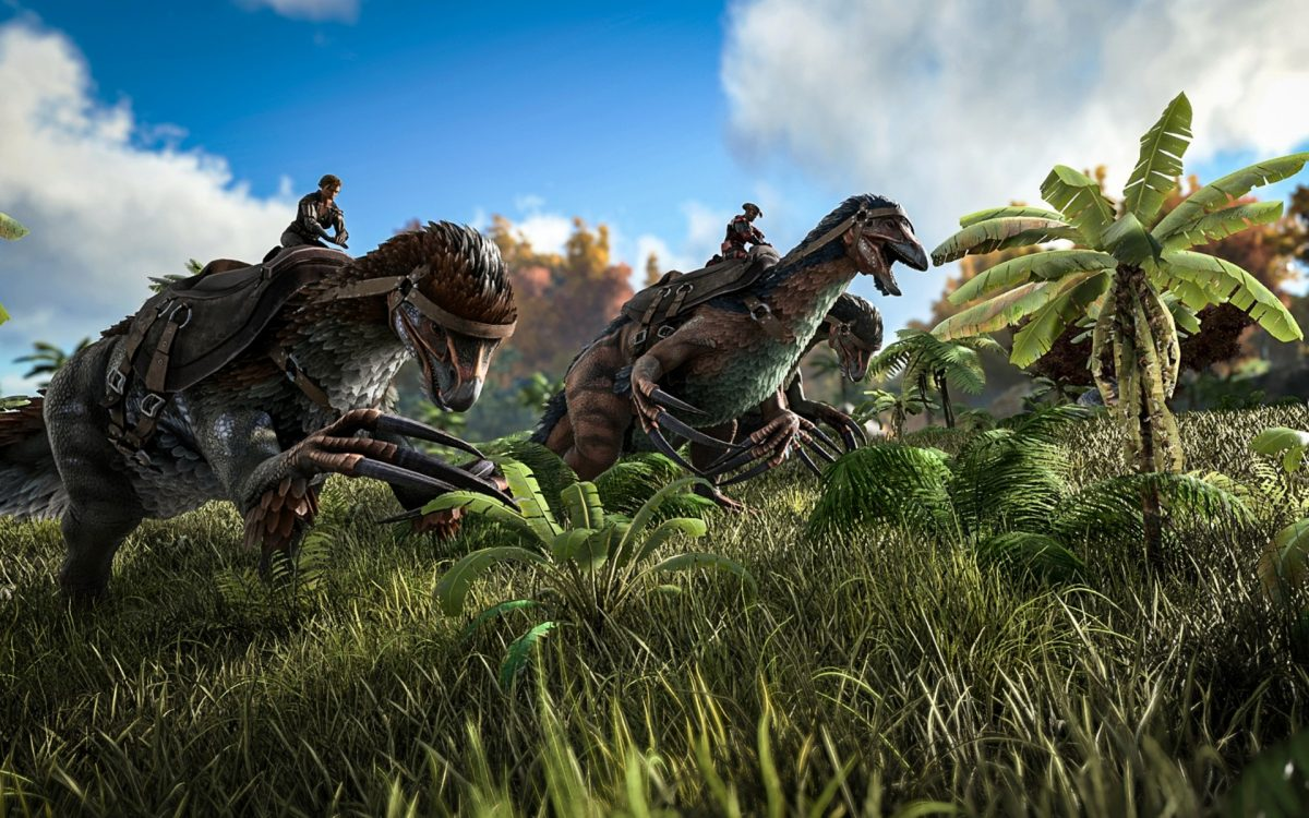 ARK dinosaur survival games