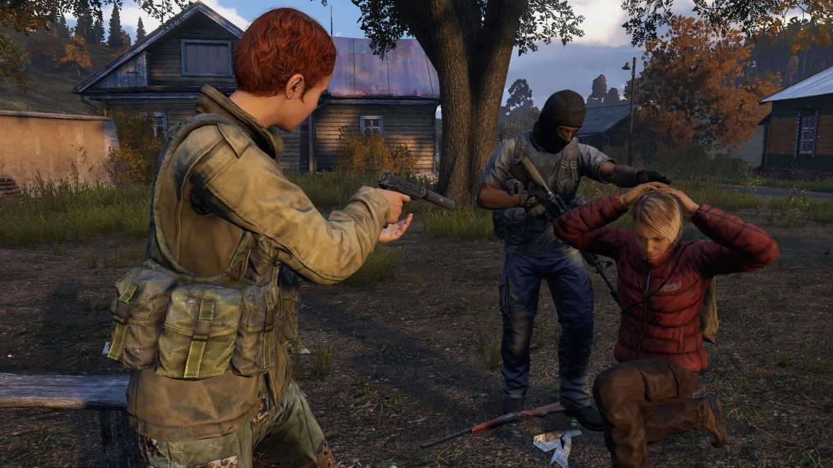 DayZ zombie survival game.