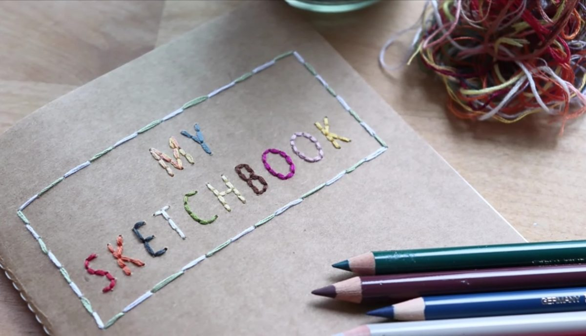 Lettering Embroidery