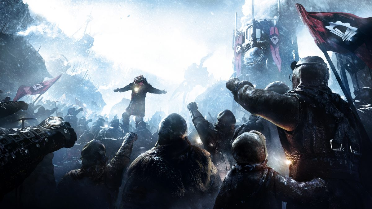 Frostpunk survival game