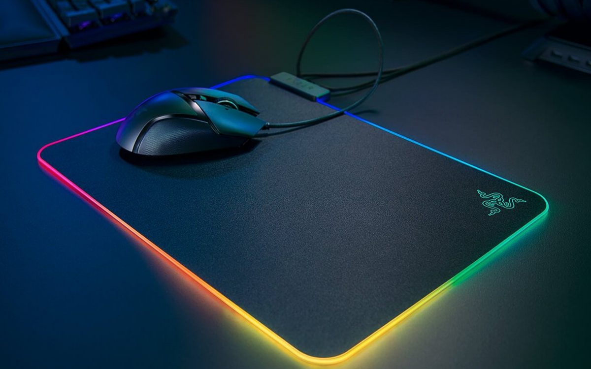 Gaming accessories mouse pad.