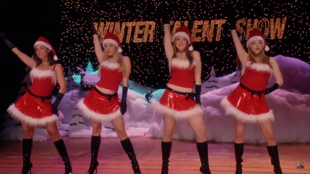 mean girls as funny christmas movie