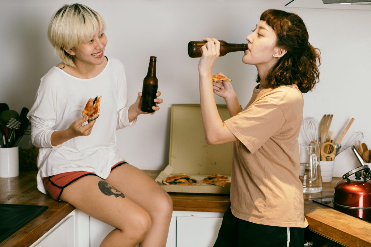 date ideas with pizza and booze