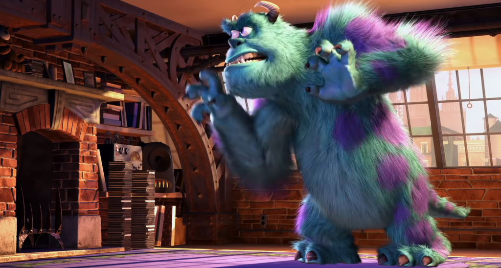 sully on monsters inc.