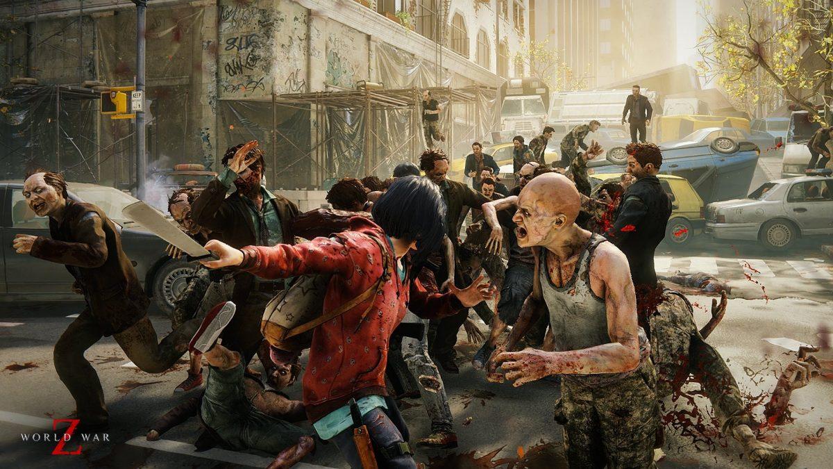 World War Z zombie survival game.