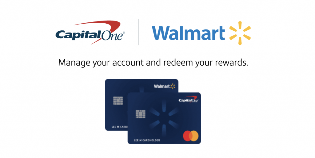 the walmart credit card functions under capital one