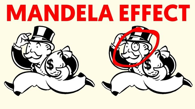 Monopoly Man and the Mandela Effect