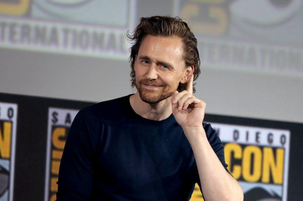 Tom Hiddleston promotes Loki at the San Diego Comic Con 2019