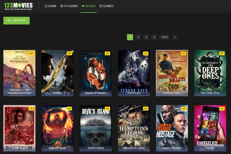 123movies as a SolarMovie alternative
