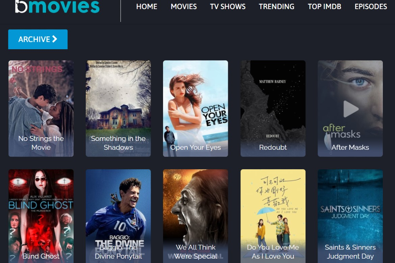 Bmovies streaming website