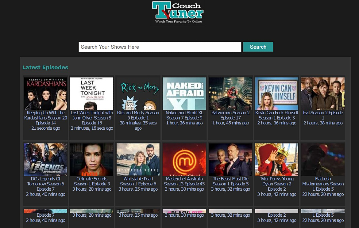 CouchTuner free online streaming