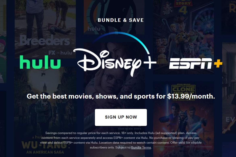Disney + Bundle offer