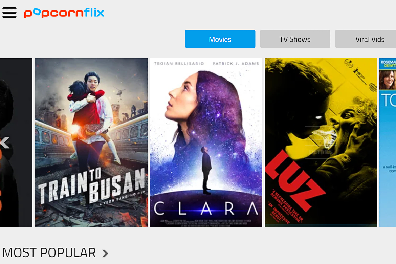 Popcornflix as your SolarMovie alternative