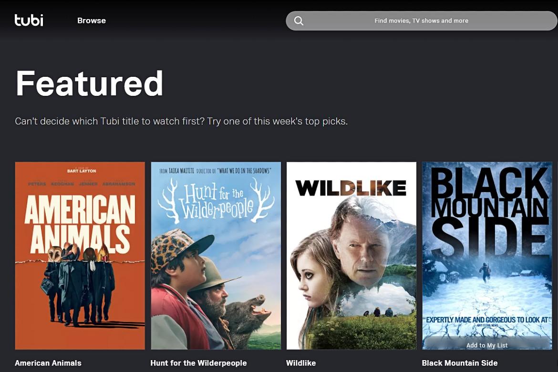 TubiTV your SolarMovie.to alternative