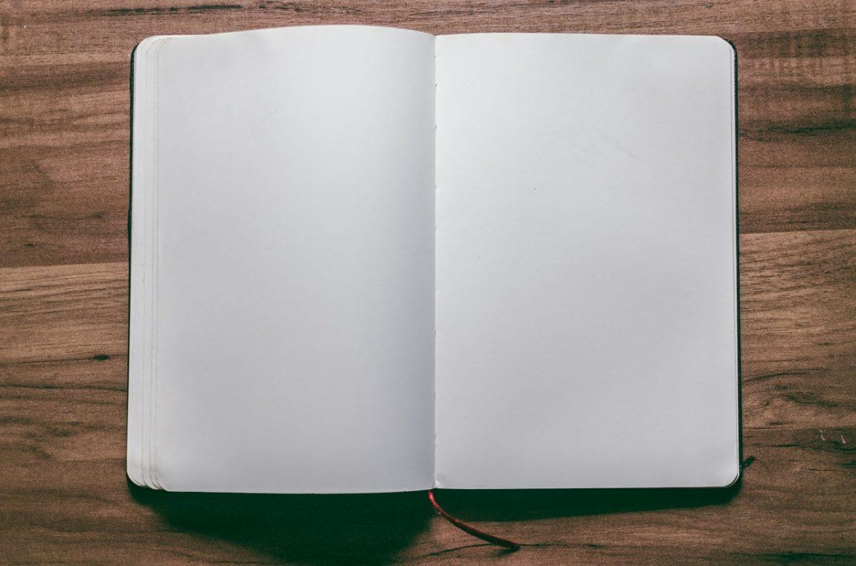 Blank Journal for Scrapbooks