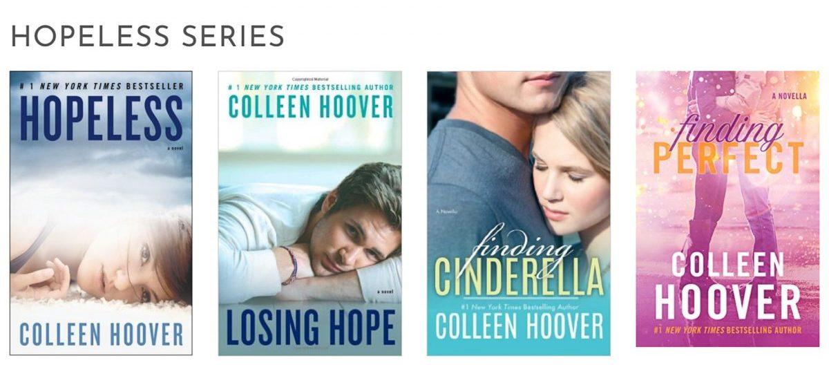 hopeless colleen hoover books
