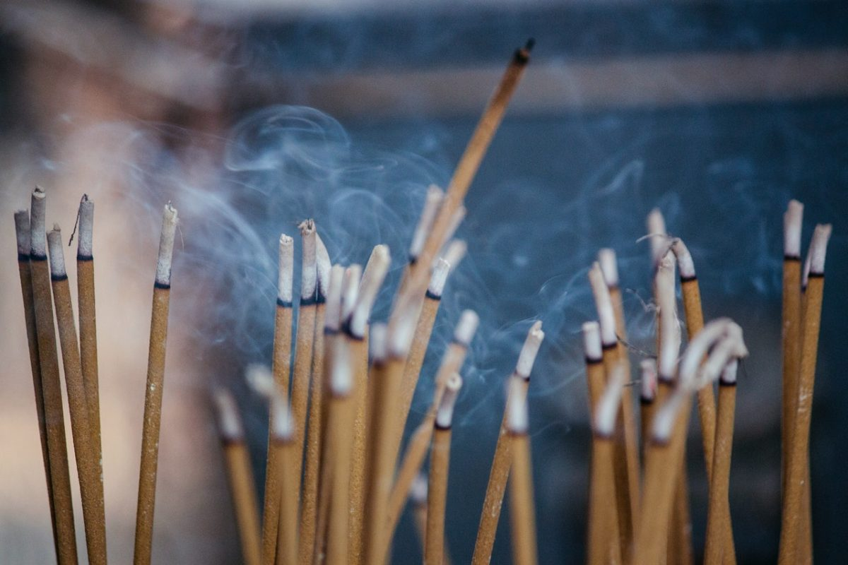 Using Incense for Crystal Cleansing