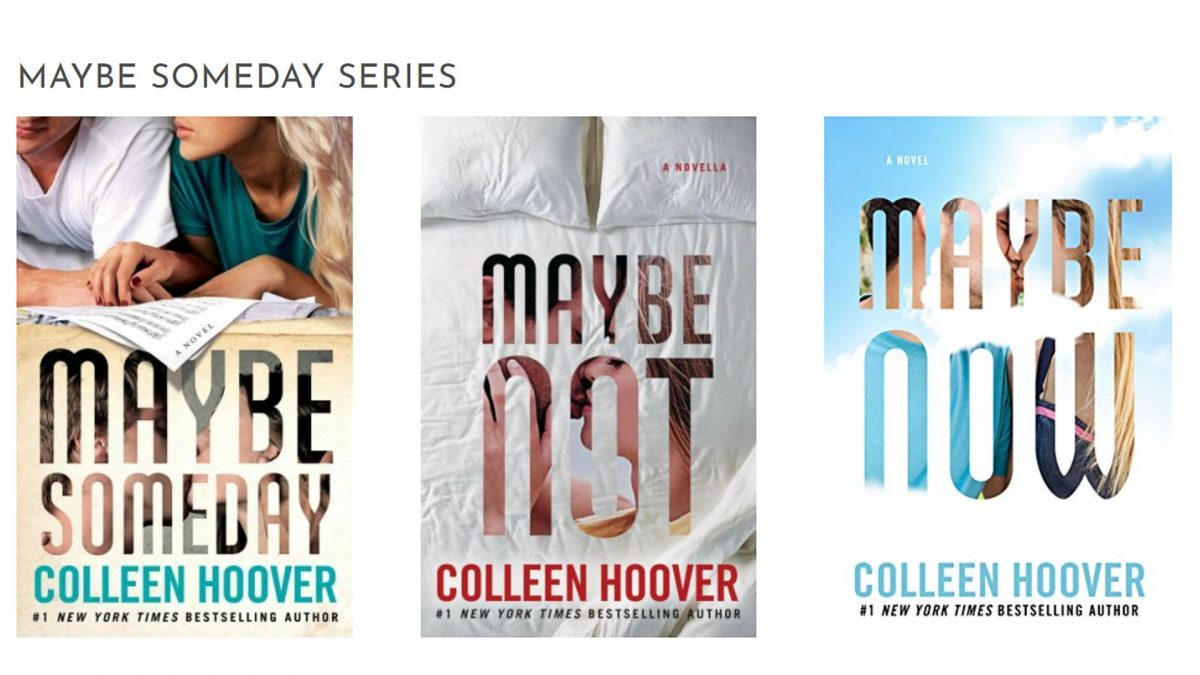 maybe someday colleen hoover books