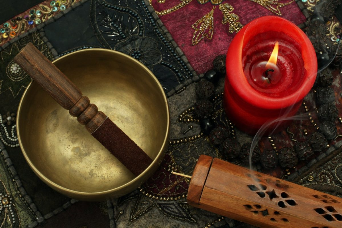 Cleansing Crystals with Singing Bowls