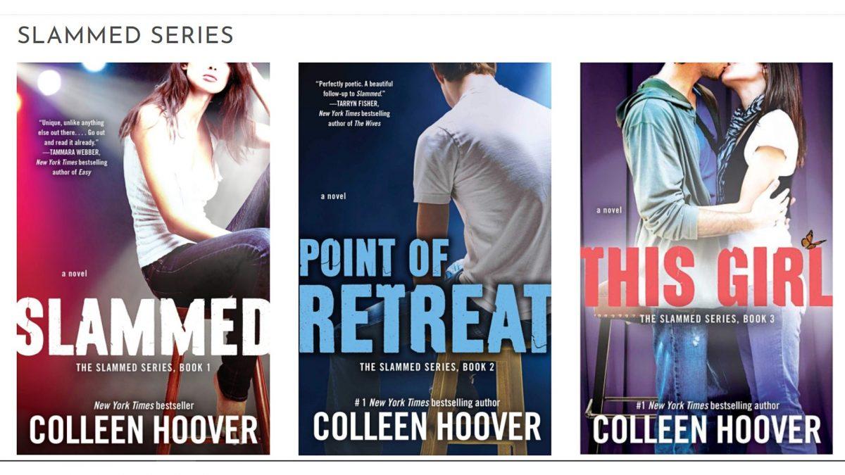 slammed colleen hoover books