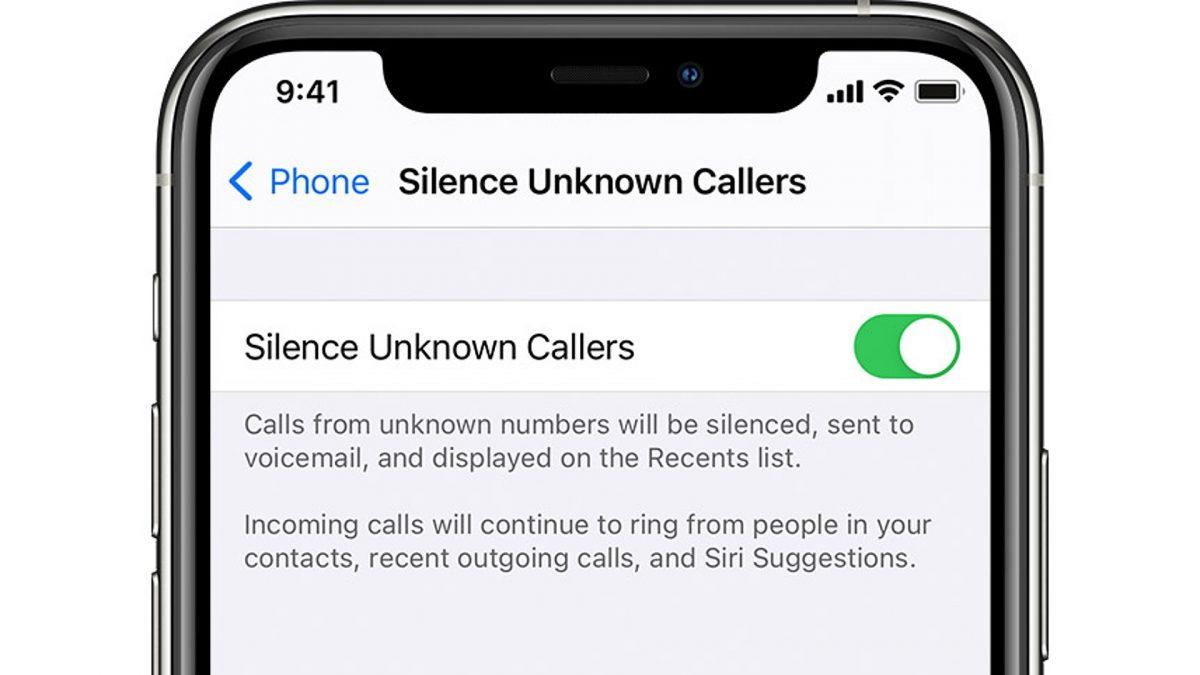 silence spam calls