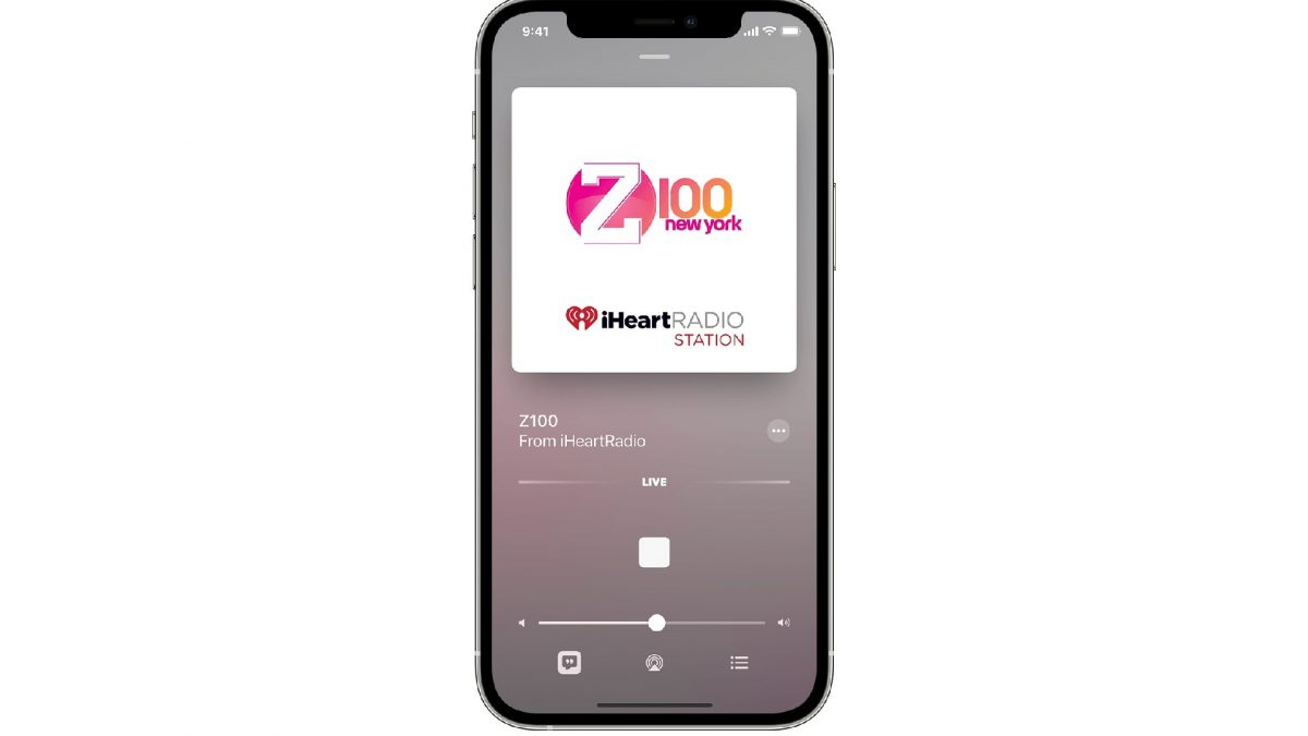 play radio stations on your iphone