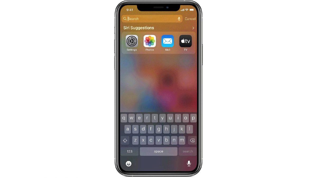 limit iPhone spotlight feature