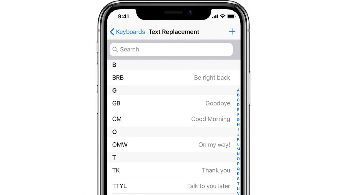 iphone hacks for faster typing