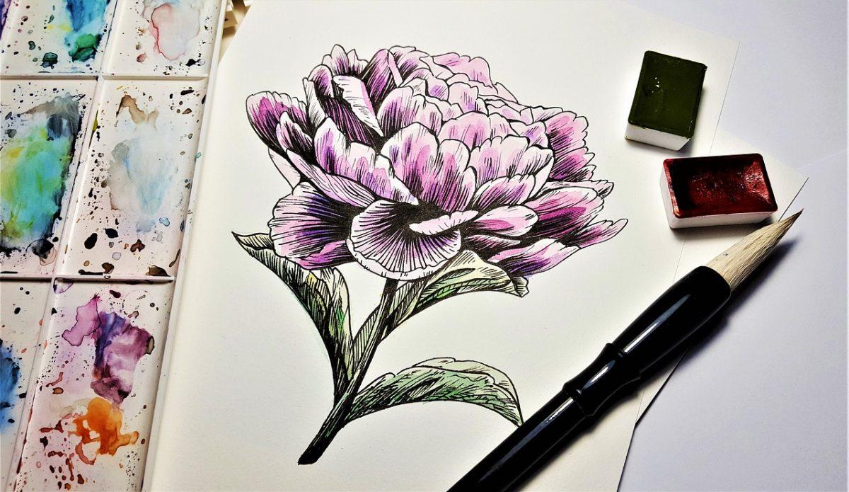 Easy Flower Drawings